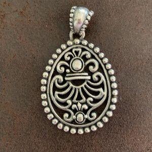Vintage Sterling Barse Celtic Necklace